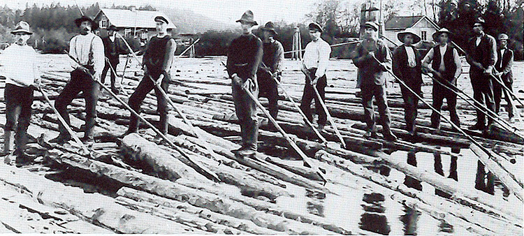 Tømmerfløtere